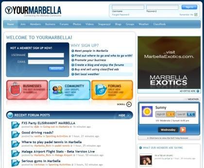 YourMarbella: red social sobre Marbella, la Costa del Sol y Puerto Banús