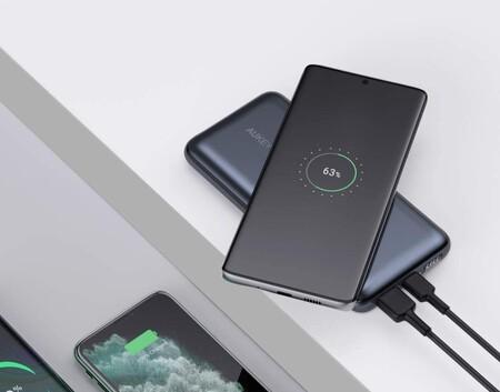 Esta powerbank Aukey carga tu móvil sin cables en cualquier lugar y tiene una autonomía brutal: llévatela por 22 euros menos con este cupón