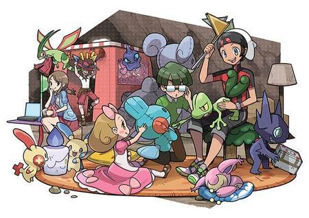Muestran las bases secretas de Pokémon Rubí Omega y Zafiro Alfa en un nuevo video