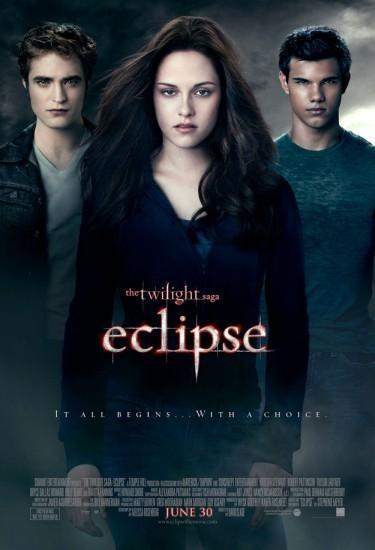 'La saga Crepúsculo: Eclipse', cartel y una escena de la película