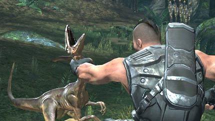 Turok - Matando a un dinosaurio
