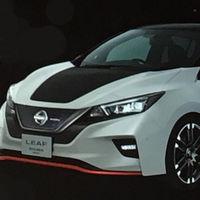 Nissan LEAF Nismo Concept, la versión con esteroides que veremos en el Auto Show de Tokio 2017
