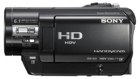 SONY HDR-HC9E
