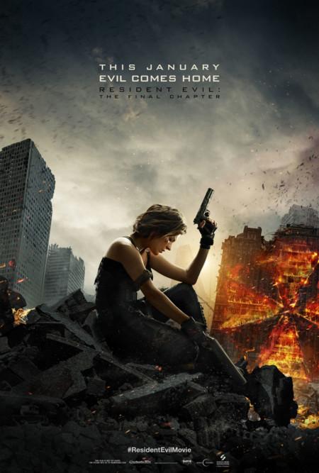 Otro póster de Resident Evil 6