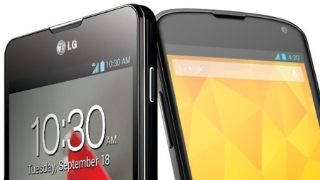 LG Optimus G vs. Nexus 4, comparativa