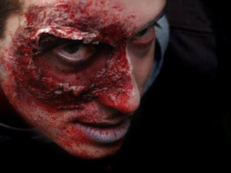 maquillage zombie coca cola