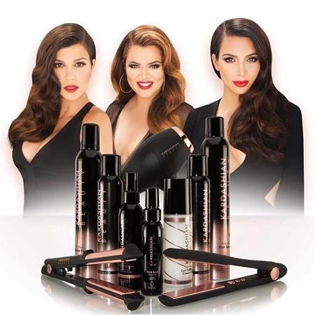 Os presentamos la colección de productos capilares de las hermanas Kardashian