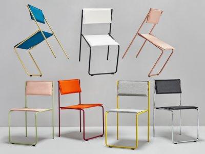 Trampolín, una silla camaleónica que desafía las leyes de la estática