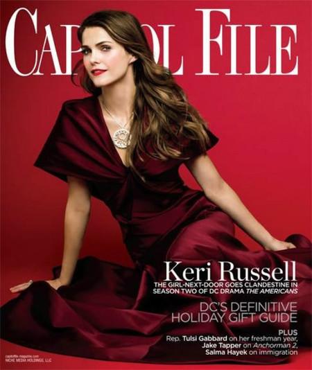 Keri Russell sí que sabe estar estupenda