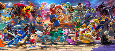 Super Smash Bros Ultimate Roster Art