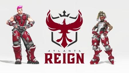 Se confirma el nombre de Atlanta Reign y su escudo, el primer nuevo equipo de la expansión de Overwatch League
