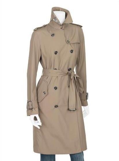 bBurberry raincoat beig