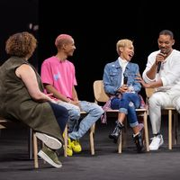 Apple celebra un evento interno con Jaden Smith y su familia centrado en el medio ambiente