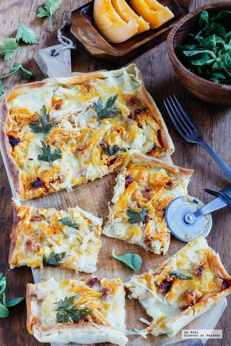 Tarta Pollo Chorizo
