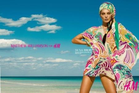 H&M por Matthew Williamson, campaña Primavera-Verano 2009