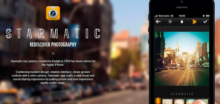 Starmatic, una buena alternativa a Instagram para iPhone