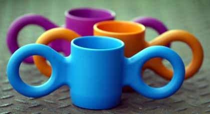 Dombo: taza para manitos resbaladizas