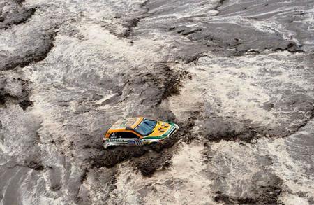 Dakar 2007: cuando Volkswagen no se preparó para el agua en el Dakar