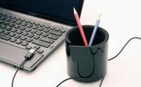 Twiner, bote lapicero con hub USB