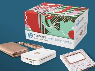 HP lanza un pack especial de la impresora portátil Sprocket con funda, álbum y skin personalizado