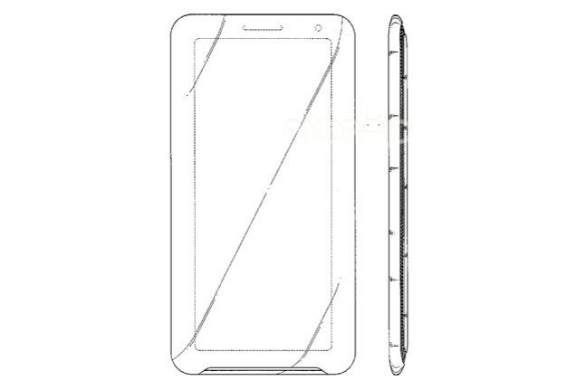 Patente smartphone Samsung 21:9