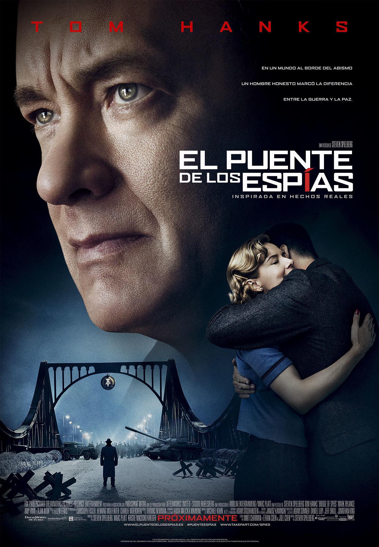 Foto de 'El puente de los espías' ('Bridge of Spies'), los carteles (3/6)