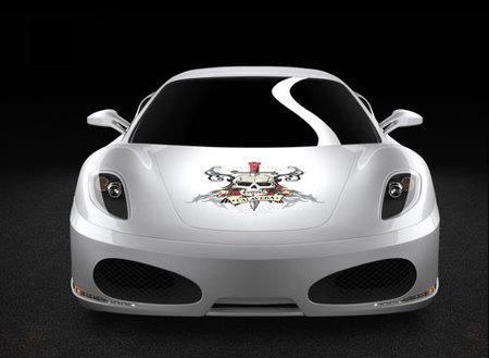 Ferrari F430 Calavera: dos cosas que no pegan ni con cola