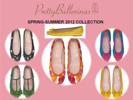 Pretty Ballerinas colección Primavera-Verano 2012: a todo color