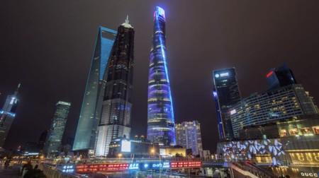 La construcción de la majestuosa Torre de Shanghái es aún más espectacular en timelapse