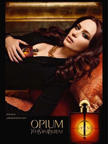 Emily Blunt nueva imagen de Opium, el perfume prohibido