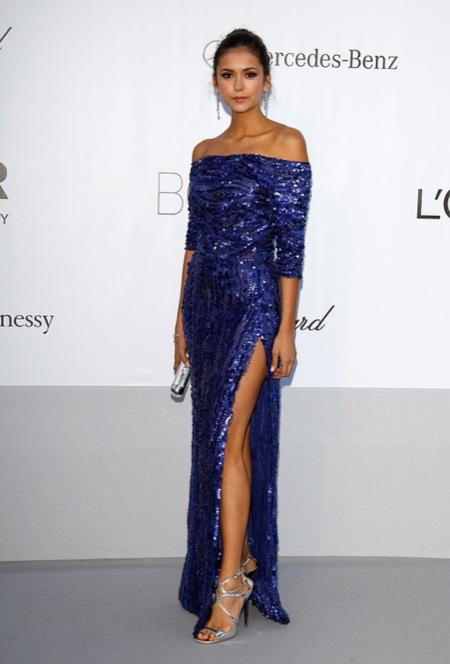 Nina Dobrev amFar 2012 Cannes