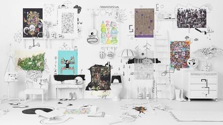 IKEA se convierte en una galería de arte con ART EVENT, una colección limitada vanguardista y rompedora