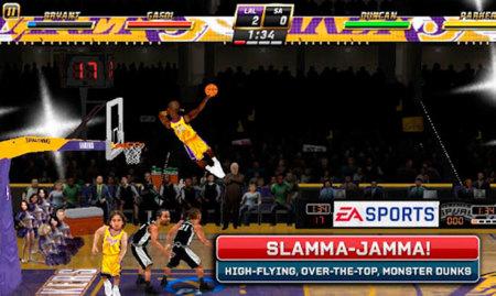 Captura de pantalla de NBA Jam