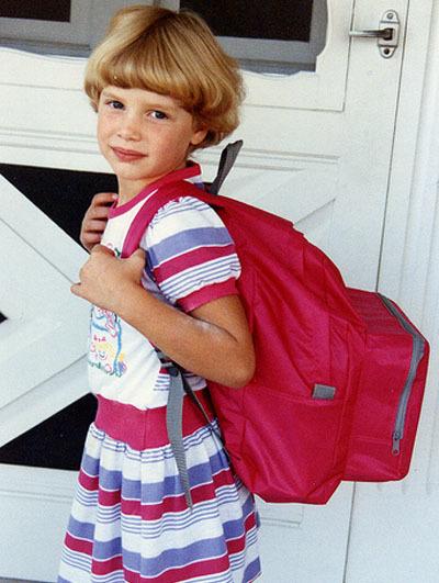 La espalda y el peso de la mochila