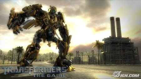 Transformers, primera captura del título de PS3