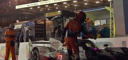 El abandono del Toyota #7 en Le Mans pudo ser culpa de un piloto que se hizo pasar por comisario
