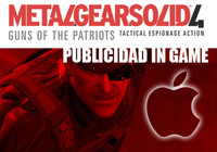 Publicidad in game en 'MGS4'. Una pequeña reflexión
