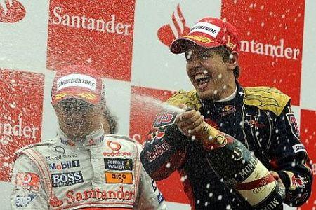 Sebastian Vettel se consagra como el vencedor más joven de la historia en Monza
