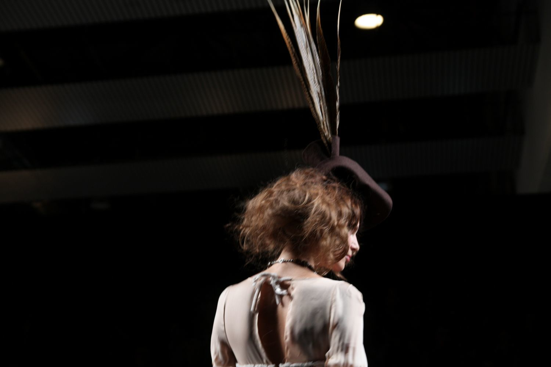 Foto de Alma Aguilar en la Cibeles Madrid Fashion Week Otoño-Invierno 2011/2012 (122/126)