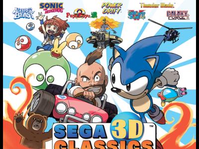 Nueve clásicos de Mega Drive y Master System reunidos en SEGA 3D Classics Collection para 3DS