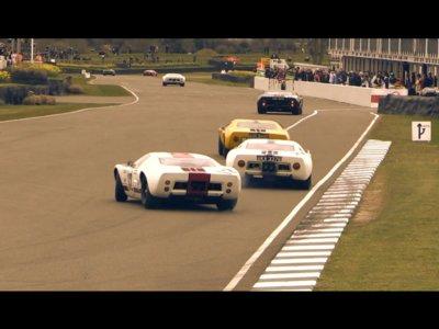 El video que querías ver hoy: un grupo de Ford GT40 compitiendo en Goodwood