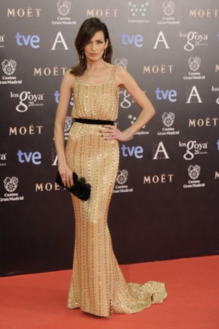 Nieves Alvarez Ralph and Russo Haute Couture Premios Goya