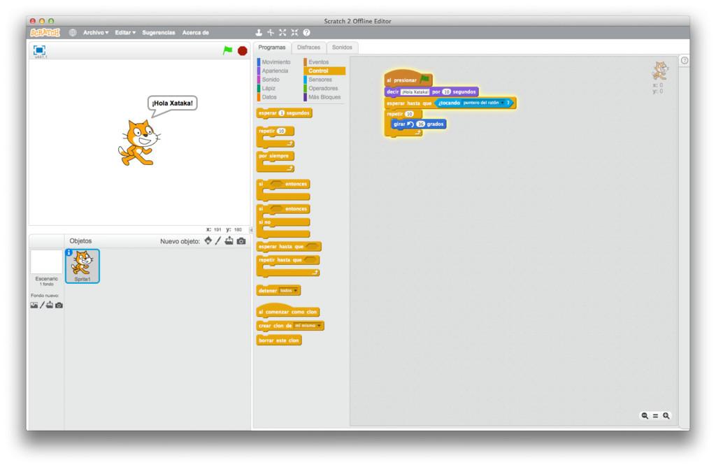 Scratch Interfaz
