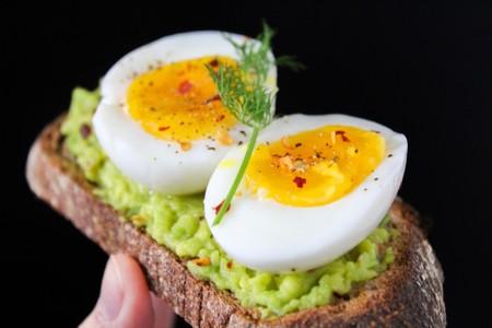 Black Background Boiled Egg Boiled Eggs 824635