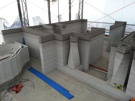 En Filipinas también imprimen casas en 3D