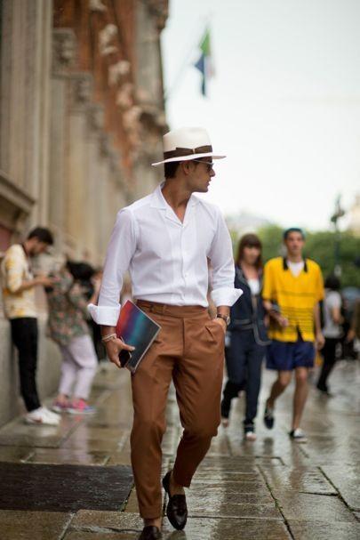 El Mejor Street Style De La Semana Las Fedoras Se Apoderan De Los Looks De Verano 07