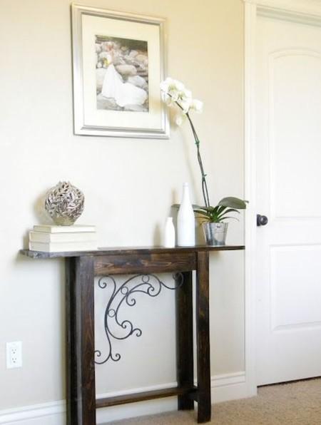21 peque os recibidores que te ayudar n a inspirarte para decorar tu entrada - Muebles de derribo ...