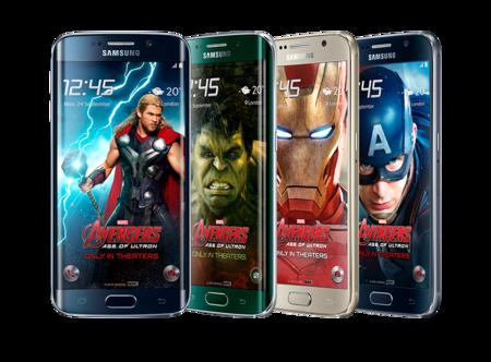 Samsung Galaxy S6 Edge Avengers Editions