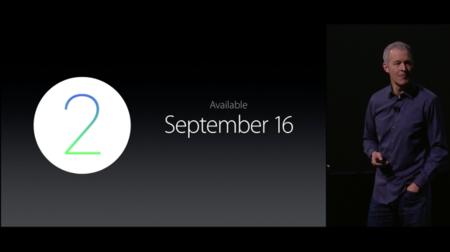 Watch OS 2.0 llegará el 16 de septiembre para potenciar el reloj de Apple