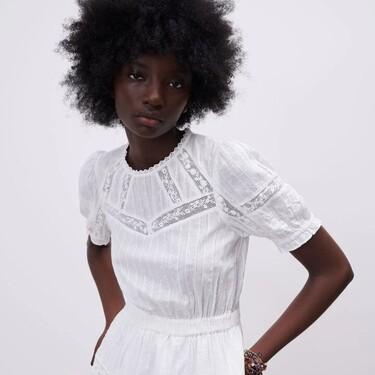 Zara tiene los vestidos blancos más bonitos de la temporada que nos hacen soñar con el verano